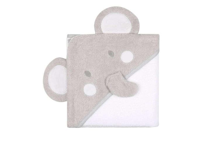 Little Haven Hooded Towel Character Elephant
