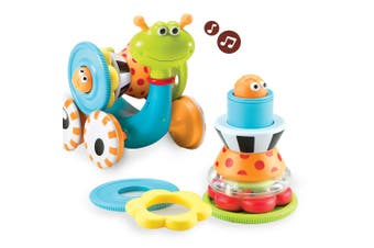 Yookidoo Crawl N Go Snail Baby Activity Toy