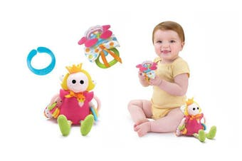 Yookidoo Baby Activity Toy Rattle Princess Play Set