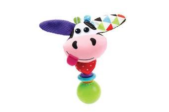 Yookidoo Shake Me Rattles Baby Toy Cow