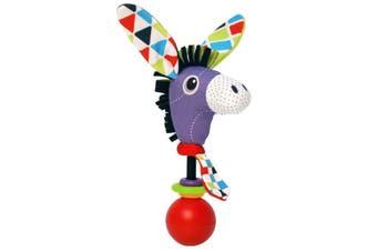 Yookidoo Shake Me Rattles Baby Activity Toy Donkey
