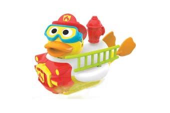 Yookidoo Jet Duck Create a Firefighter Kids Bath Toy