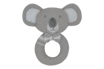 Living Textiles Kevin the Koala Knitted Rattle