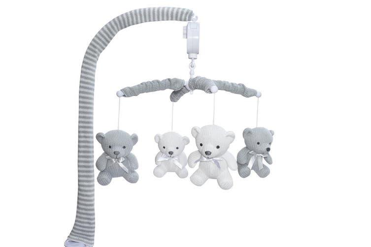 Living Textiles Musical Cot Mobile Bear