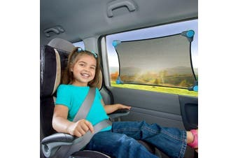 Brica Stretch-To-Fit Car Window Sun shade