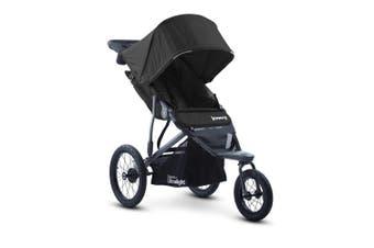 Joovy Zoom 360 Ultralight 3 Wheel Jogging Stroller Black