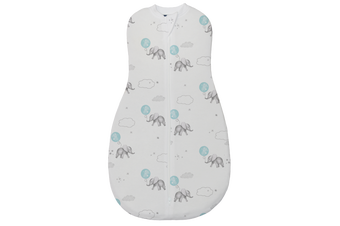 Living Textiles Zip Up Smart Swaddle 0.2 Tog 0-3m 3-7kgs Dream Big