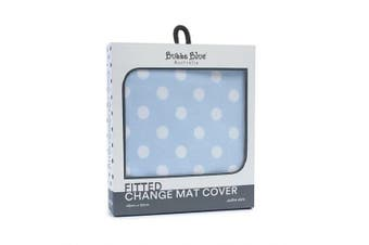 Bubba Blue Blue Polka Dots Change Mat Cover