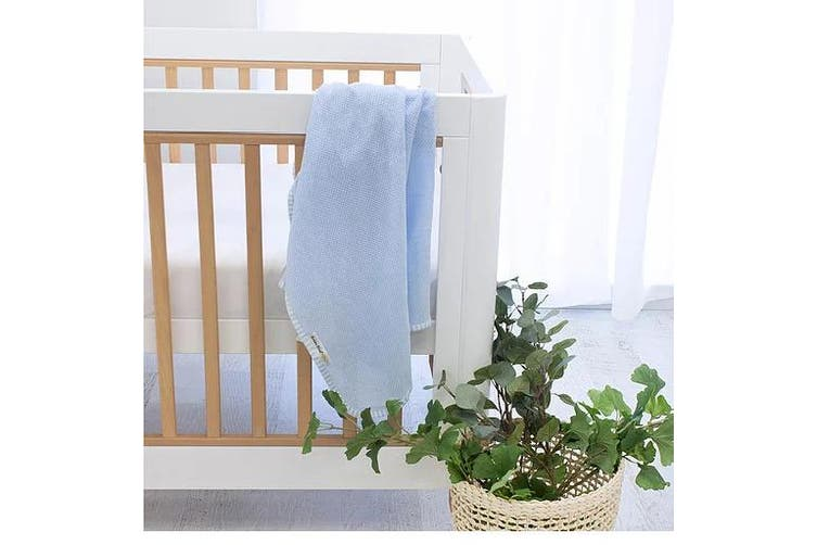 Bubba Blue Blue AIR+ Baby Swaddle Wrap