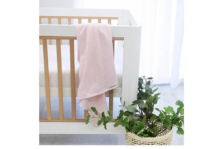 Bubba Blue Pink AIR+ Swaddle Wrap