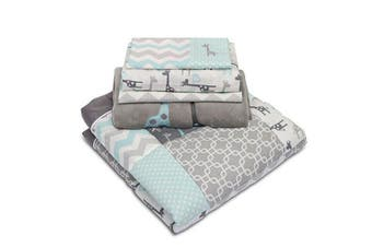 Peanut Sheel Uptown giraffe 5 Piece Nursery Set