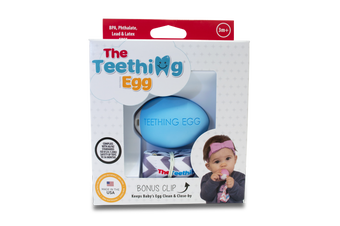 Teething Eggs Blue