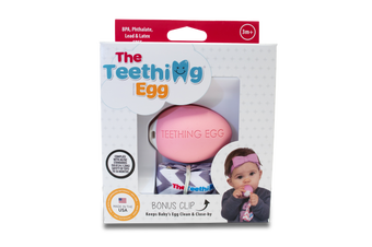 Teething Eggs Pink
