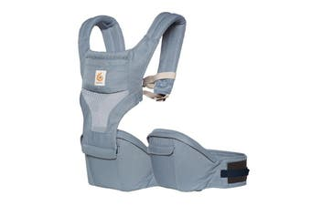 Ergobaby Hipseat Cool Air Mesh Baby Carrier Oxford Blue