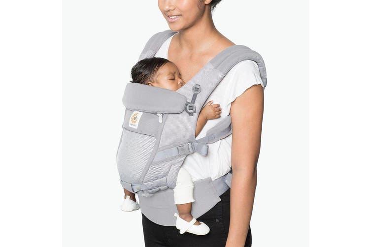 Ergobaby Adapt Cool Air Mesh Baby Carrier Pearl Grey