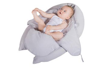 Love N Care Nova Pregnancy Nursing Breast Feeding Pillow Grey