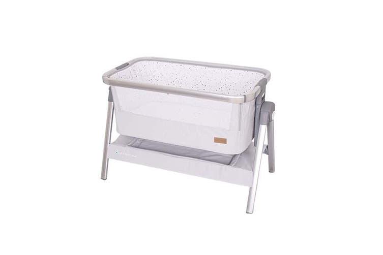 Love N Care Dreamtime Bedside Co Sleeper Baby Bassinet Glacier