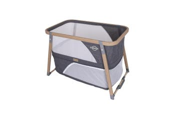 Love N Care Cosmos 3-in 1 Crib Baby Bassinet Charcoal