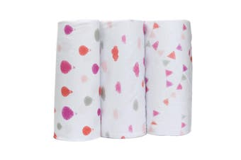 Bubble Wrap Bamboo Dreamtime Pink Girls