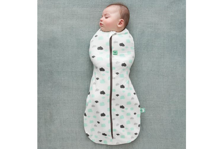 Ergopouch Cocoon Baby Swaddle Sleeping Bag Heritage 1 Tog 0-3 M Clouds