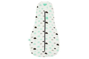 Ergopouch Cocoon Baby Swaddle Sleeping Bag Heritage 1 Tog 3-12 M Clouds