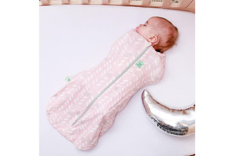 Ergopouch Cocoon Baby Sleeping Swaddle Bag Heritage 1 Tog 3-12 M Spring Leaves