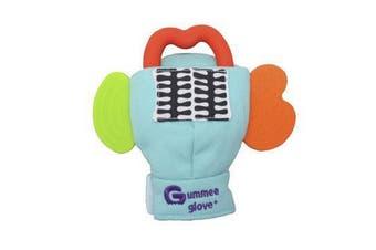 Gummee Glove Plus Teether Teething Mitten Turquoise 6-12 Months