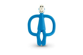 Matchstick Monkey Teething Toy and Gel Applicator - Blue