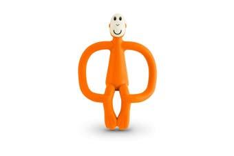 Matchstick Monkey Teething Toy and Gel Applicator - Orange