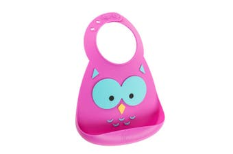Make My Day Baby Bib What A Hoot Owl