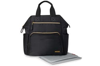 Skip Hop Main Frame Wide Open Backpack Nappy Bag Black