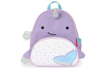 Skip Hop Zoo Pack Kids Backpack Narwhale