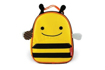 Skip Hop Kids Zoo Lunchies Insulated Lunch Bag Box Bee