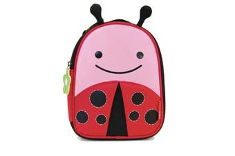 Skip Hop Kids Zoo Lunchies Insulated Lunch Bag Box Ladybug