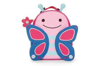 Skip Hop Kids Zoo Lunchies Insulated Lunch Bag Box Butterfly