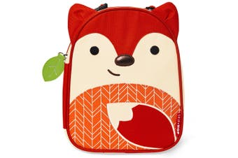 Skip Hop Kids Zoo Lunchies Insulated Lunch Bag Box Fox