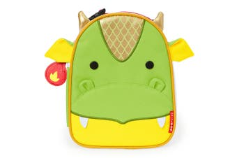 Skip Hop Kids Zoo Lunchies Insulated Lunch Bag Box Dragon