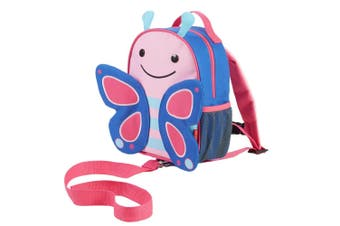 Skip Hop Zoo let Mini Backpack With Rein Butterfly