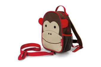 Skip Hop Zoo let Mini Backpack With Rein Monkey