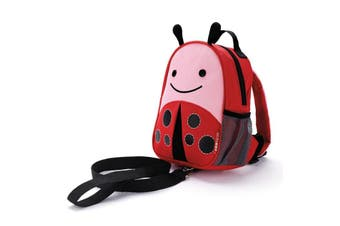 Skip Hop Zoo let Mini Backpack With Rein Ladybug