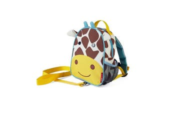 Skip Hop Zoo let Mini Backpack With Rein Giraffe