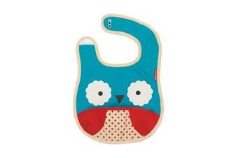 Skip Hop Zoo Otis Owl Tuck Away Bib