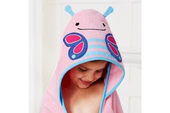 Skip Hop Zoo Kids Hooded Towel Butterfly