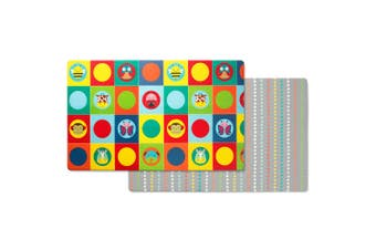 Skiphop Doubleplay Reversible Playmat - Zoo