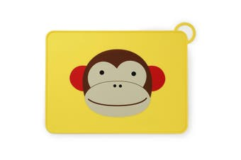 Skip Hop Zoo Fold & Go Kids Placemat Monkey