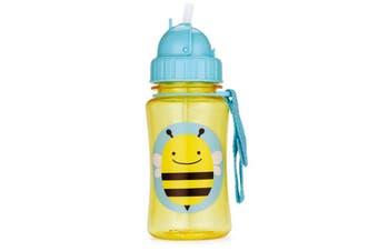 Skip Hop Zoo Kids Straw Drink Bottle Bee