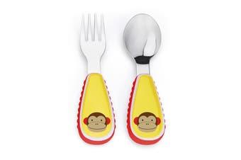 Skip Hop Zootensils Kids Fork & Spoon Monkey