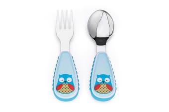 Skip Hop Zootensils Kids Fork & Spoon Owl