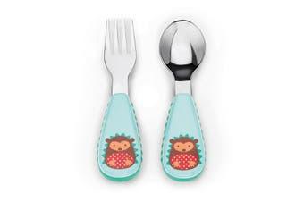 Skip Hop Zootensils Kids Fork & Spoon Hedgehog