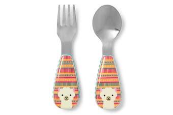 Skip Hop Zootensils Kids Fork & Spoon Llama
